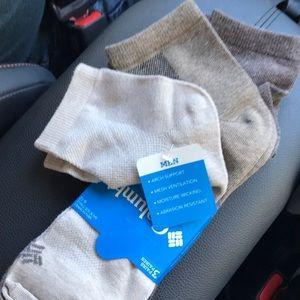 Columbia 3 Pack Quarter Socks